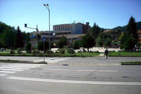Новата сграда на читалището, построена през 1978г.