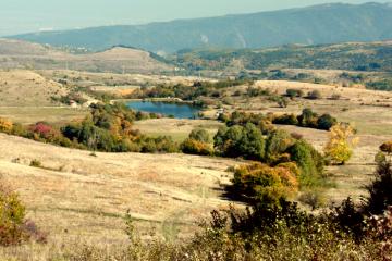 Изглед от района на Бистрица