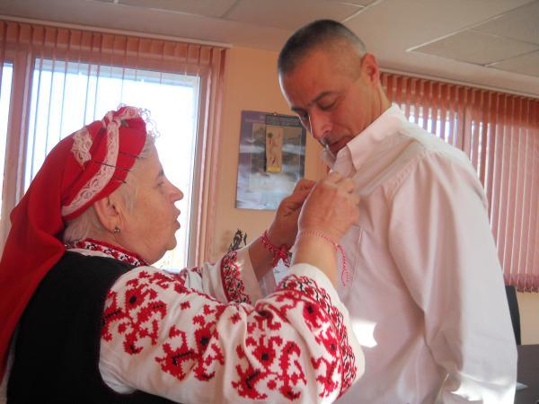 Баба Марта в район Панчарево