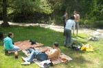 Пикник край река Бистрица